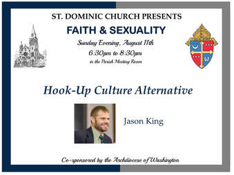 Young Adults Speaker at St. Dom's, SW