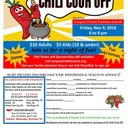 PRE-SALE CHILI COOKOFF INFORMATION!