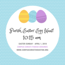 Parish Easter Egg Hunt - Easter Sunday