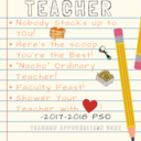 TEACHER APPRECIATION WEEK May 7-11