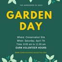 Garden Clean Up Day - April 7