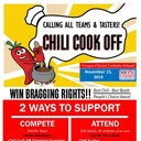 November 15 Chili Cook-Off