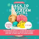 Back to School Ice Cream Social 08/04/2019
