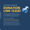 DONATION LINK ISSUE
