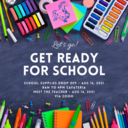 Let's get ready for school as we Open Wide the Doors of Christ!