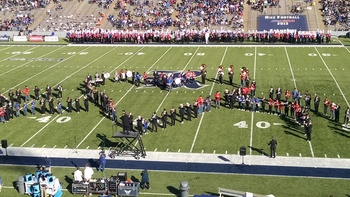 Band performs at Rice University!