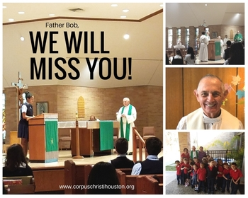 Farewell Dinner for Father Bob tonight! 12/1/2017