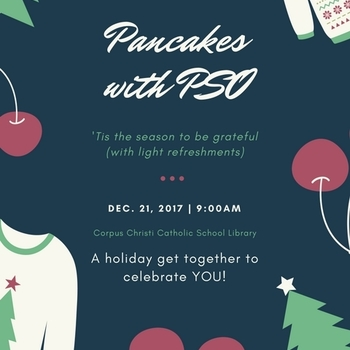 Pancakes with PSO on December 21 @9 am