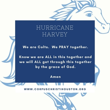 Thoughts and Prayers for our Community - School closed through Sept 5th