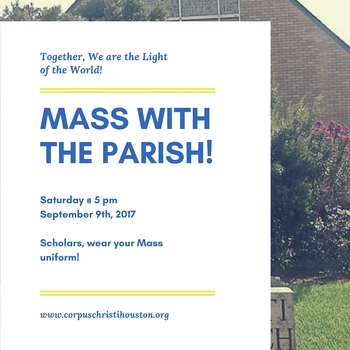 Mass with the Parish