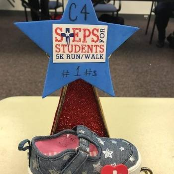 FIRST EVER Steps for Students award