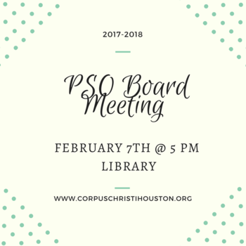 PSO Board Meeting