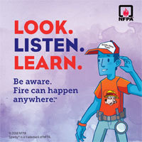 Fire Prevention Week Oct 7 -13, 2018