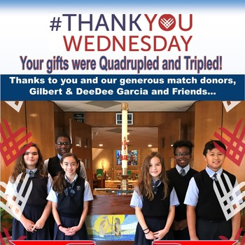 #GivingTuesday Match Challenge met