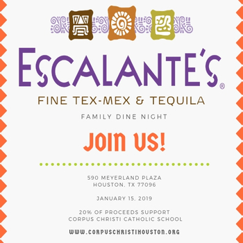 Family Dine Out @ Escalantes, Meyerland