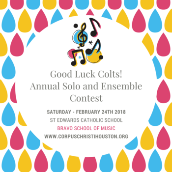 Band Competition Saturday 2/24/2018