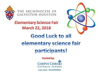 Archdiocesan Elementary Science Fair - 3.22