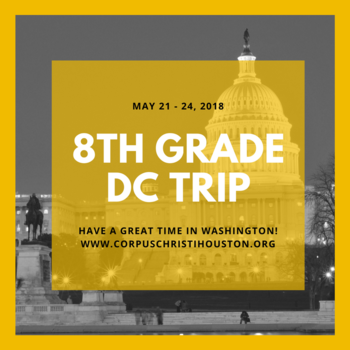 8th grader scholars in Washington DC this week