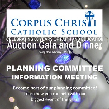 Auction Planning Meeting - 09.20.2018