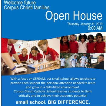 Prospective families - OPEN HOUSE Jan 31