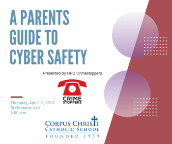 Crime Stoppers Cyber Safety Presentation