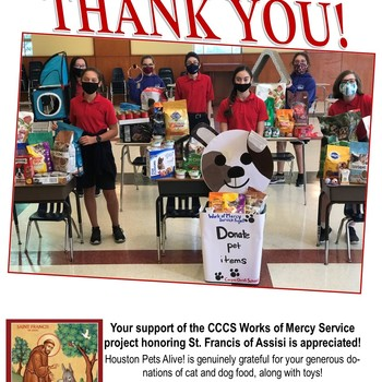 Thank You! Works of Mercy Service Project Success