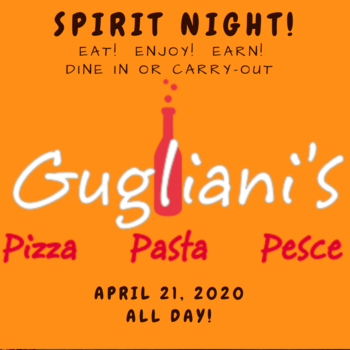 Family Dine - April 21 at Gugliani's