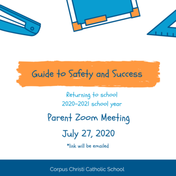 PARENT ZOOM MEETING JULY 27, 2020