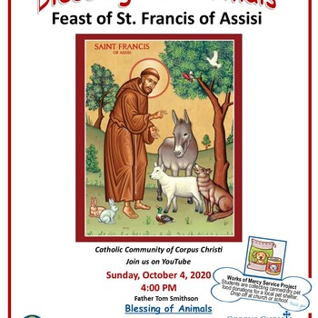 Blessing of Animals 10/04 on YouTube