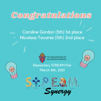 Congratulations to our #STREAM Fair Winners!