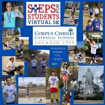 FIRST EVER STEPS FOR STUDENTS VIRTUAL 5K