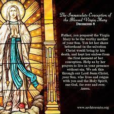 Feast of the Immaculate Conception (Holy Day of Obligation)