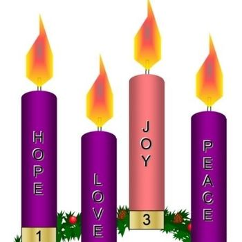 Advent Wreath sales after all Masses on Nov 24-25
