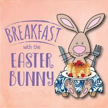 Breakfast with the Bunny sponsored by the St. Anselm Knights of Columbus