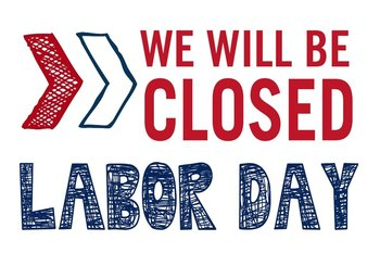 Labor Day Office Closed