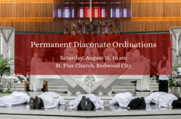 Nine New Permanent Deacons Will Be Ordained by Archbishop Cordileone