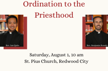 Two New Priests to Be Ordained for the Archdiocese by Archbishop
