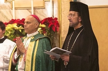 Catholics and Greek Orthodox Pray Vespers Together