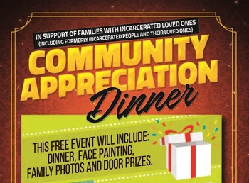 Dinner in Support of Families of Prisoners
