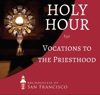Archbishop Leads Holy Hour of Prayer for Vocations