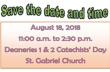 Catechists' Day Deaneries 1 and 2