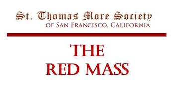 Red Mass with Archbishop Cordileone