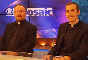 "Fr. Kennedy and Fr. Faller Discuss  <br />Priesthood on ""Ask a Priest."""