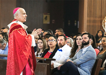 Confirmation of Adults with  <br />Archbishop Cordileone
