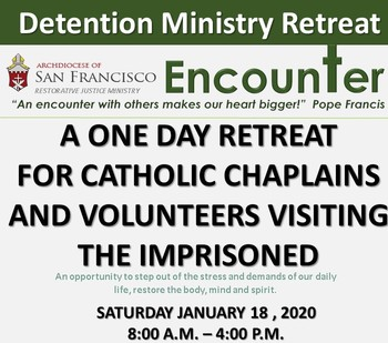 Detention Ministry Retreat  <br />for Chaplains and Volunteers
