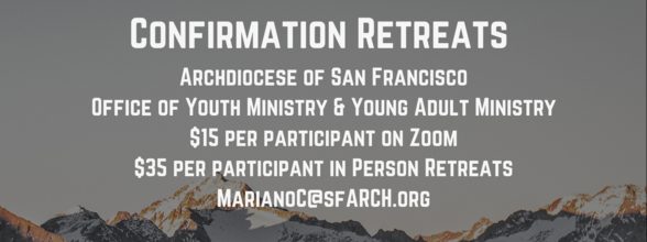 ADSF Youth Confirmation Retreat Registration