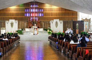 Monthly Mass for Life and Rosary Procession