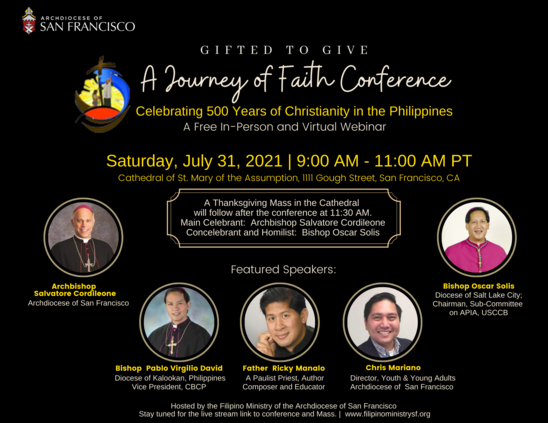 Journey of Faith Conference Flier