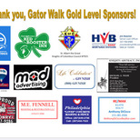 Thank you Gator Walk Gold Sponsors! Click to see sponsors.