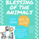 5th Annual Blessing of the Animals
